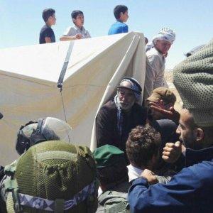 Israeli Forces Raid West Bank Protest Camp