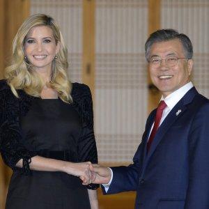 "Ivanka Trump to Push for ""Maximum Pressure"" on N. Korea"