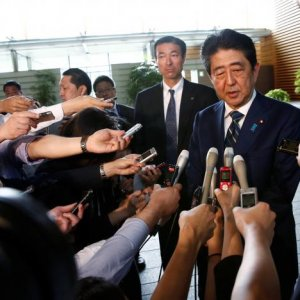 Abe's Party Suffers Historic Defeat in Tokyo Poll