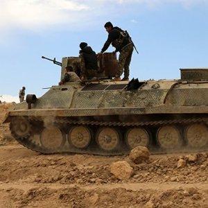 Kurdish troops in Syria (File Photo)