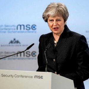 May Calls for Security Treaty With EU by End of 2019