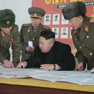 """Kim Jong-Un said he would """"watch a little more the foolish and stupid conduct of the Yankees"""" before executing any order."""