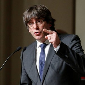 Puigdemont Says Can Govern Catalonia From Belgium
