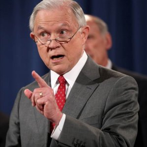Right Groups Denounce Sessions Tough Talk on Leaks