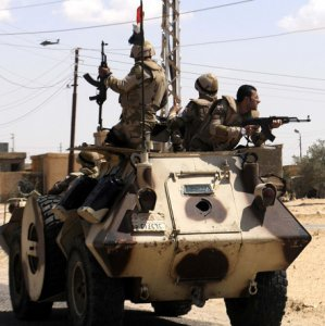 Roadside Bomb Kills 2 Policemen  in Sinai