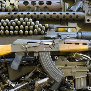 Arms deliveries to India from the US, the world's top weapons exporter, increased more than six-fold in the five-year period.