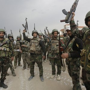 Syrian Army entered al-Sukhnah in Homs Province from three directions, liberating the town.