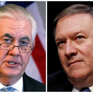 Donald Trump Fires Chief Diplomat  Tillerson, Taps CIA Director Pompeo