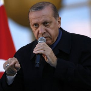 "Erdogan Says Turkey Will Soon ""Stomp"" on Militants in Northern Iraq"