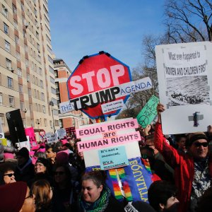 The marches aim to build on the movement launched last year when more than three million people  turned out nationwide to voice opposition to Trump.