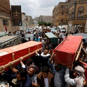 Draft UN Blacklist Names Saudi  Coalition for Killing Yemeni Children