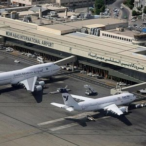 Tehran's Mehrabad International Airport is the busiest Iranian airport.