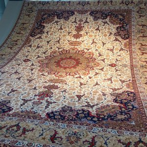 Persian hand-woven carpets are exported to about 80 countries.