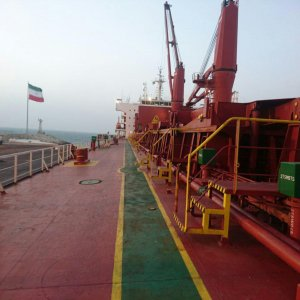 2nd Batch of S. Korea Steel Unloaded at Chabahar