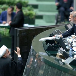 President Hassan Rouhani submitted the budget bill for the fiscal 2018-19 to the parliamenton Dec. 10.