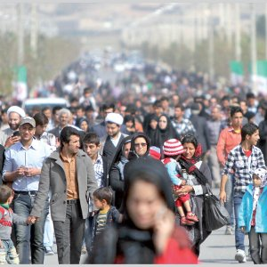 Iran's fertility decline has had a significant impact on its age composition.