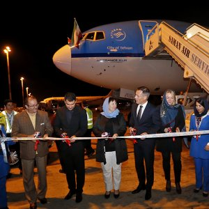 KLM resumed flights between Amsterdam and Tehran in October 2016, after a three-year hiatus.