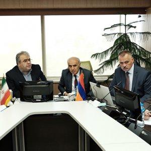 Tehran, Yerevan Talk Transit in Tehran