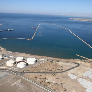 Chabahar is a strategic port located in Iran's southeastern Sistan-Baluchestan Province.