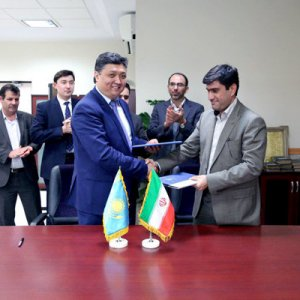 Rail Transit MoU With Kazakhstan
