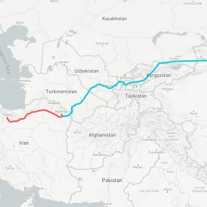 The New Silk Road would become a tailwind for the transport of goods and energy between Iran and China, which have set a long-term bilateral trade target of $600 billion/year.