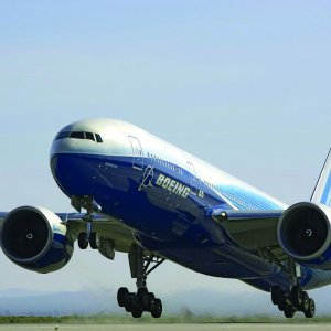 Boeing plans to start delivering its large 777 jets in 2018.