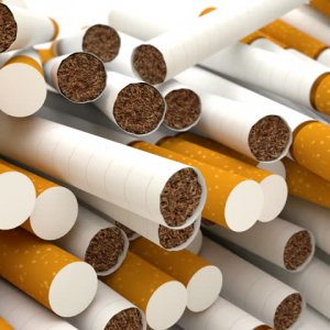 Cigarette Output Up 128%