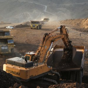 About 34% of 7.09 million tons of concentrated iron ore produced by Golgohar, Iran's largest iron ore miner, have been exported in the nine-month period ending December 20.