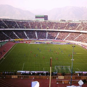 All Iranian stadiums belong to the government.