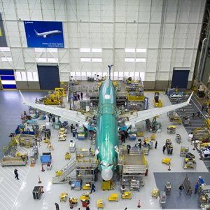 Boeing says the Iran Air deal supports some 100,000 jobs, directly at Boeing and through  its supply chain.