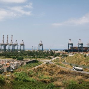 Gioia Tauro, the port from where Gruppo Ventura shipped locomotives to Iran