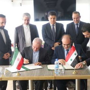The economic agreement was signed in Damascus on Thursday.