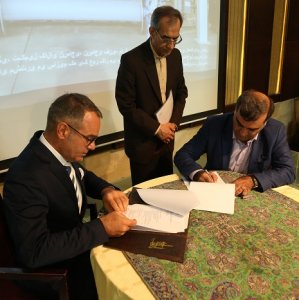 Santex Rimar signed an agreement with Yazd University for supplying a SMIT rapier weaving machine with the aim of training students on the latest textile technologies and undertake joint research.