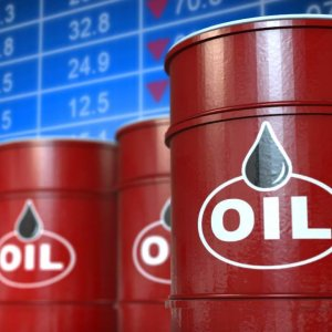 Brent Crude Oil Steadies at $55
