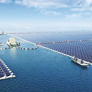 China Starts World's Biggest Floating Solar Power Project