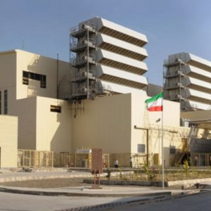 Chabahar power plant in Sistan-Baluchestan Province.