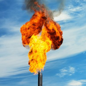 Gas Flaring Down at  4th South Pars Refinery