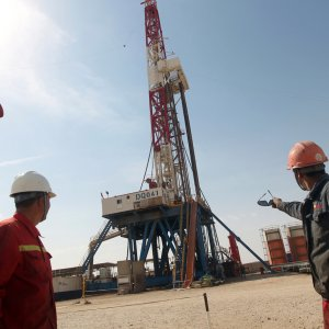 Iraq Drills Oil Near Iran Border