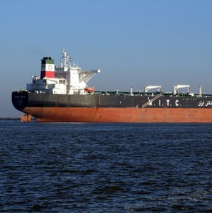 VLCC Discharges  Off Singapore