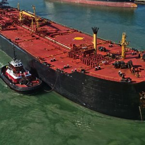 Iranian crude exports had fallen to about 1 million bpd under sanctions.