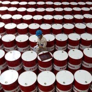 Crude Below Recent Highs