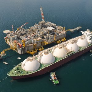 Qatar is world's biggest LNG exporter.