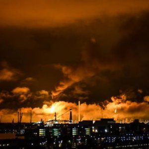 Fire Shuts Down Europe's Largest Oil Refinery