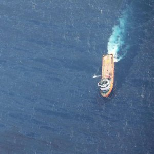 Sanchi has been leaking fuel in the sea and the size of spill has exceeded 100 square kilometers.