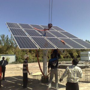 The government guarantees the purchase of electricity from solar plants for 20 years.