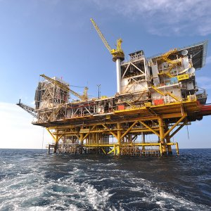 SP Phase 19B Offshore Platform Installed