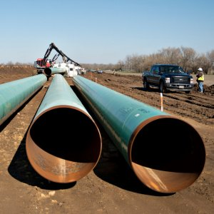 The Keystone pipeline would take crude from Canada's oil sands to Gulf of Mexico.