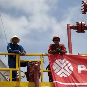 Oil accounts for over 90% of Venezuela's export revenue.