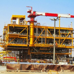 Iran's biggest oil and gas projects need foreign funding to move forward.