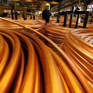 Copper Output Up 20%
